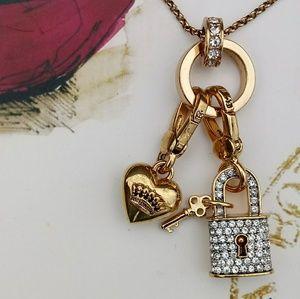 Juicy Couture Charm Catcher Necklace
